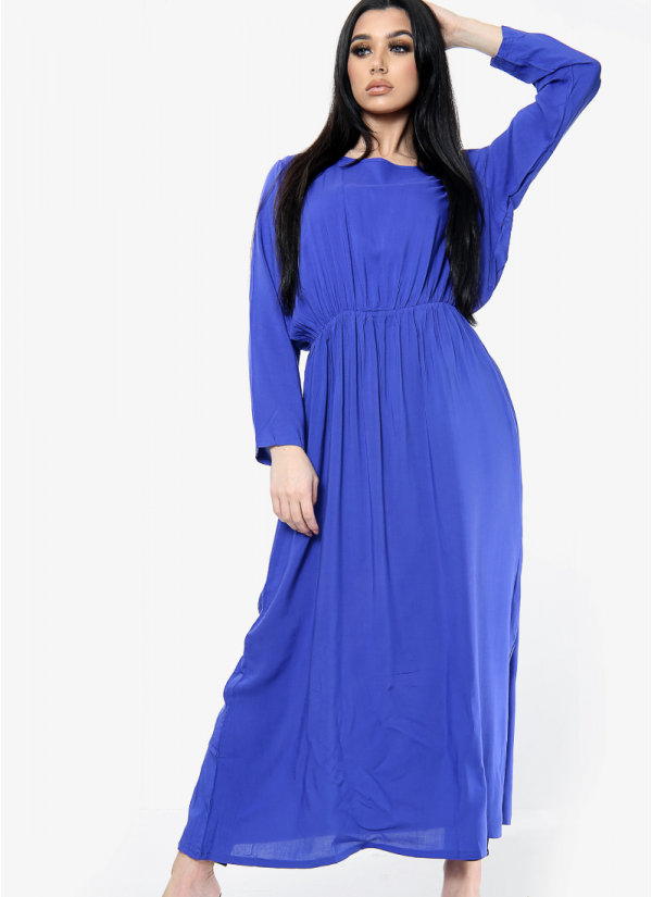 Plain Elasticated Dress