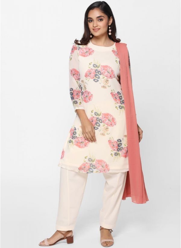 Bold Floral Salwar Suit
