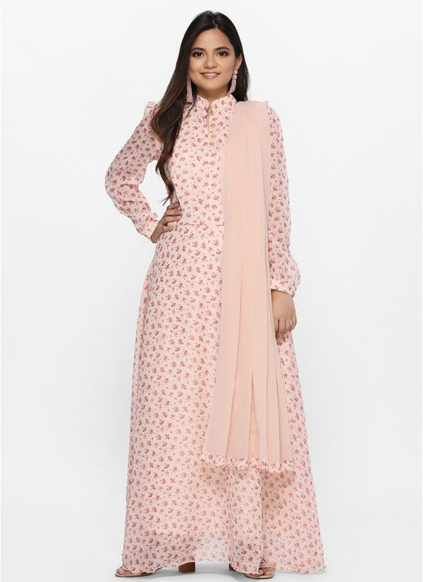 Ditsy Floral Flow Dress