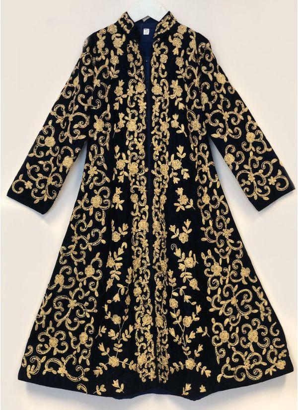 Navy Blue Regal Dress