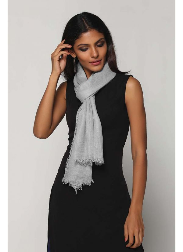 Woven Oversize Scarf SCR-56-MG-STD