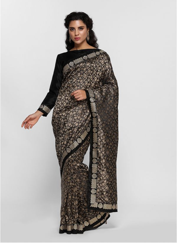Regal Silk Jacquard Saree