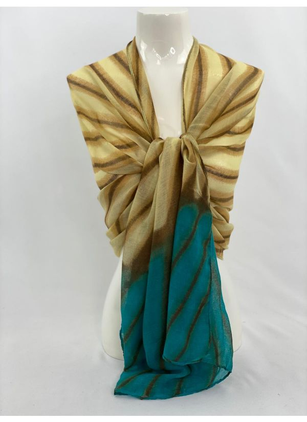 Striped Ombre Scarf SWH-106-BL-STD